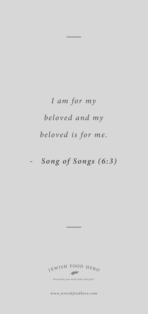 Song of Songs 6:3 Quote