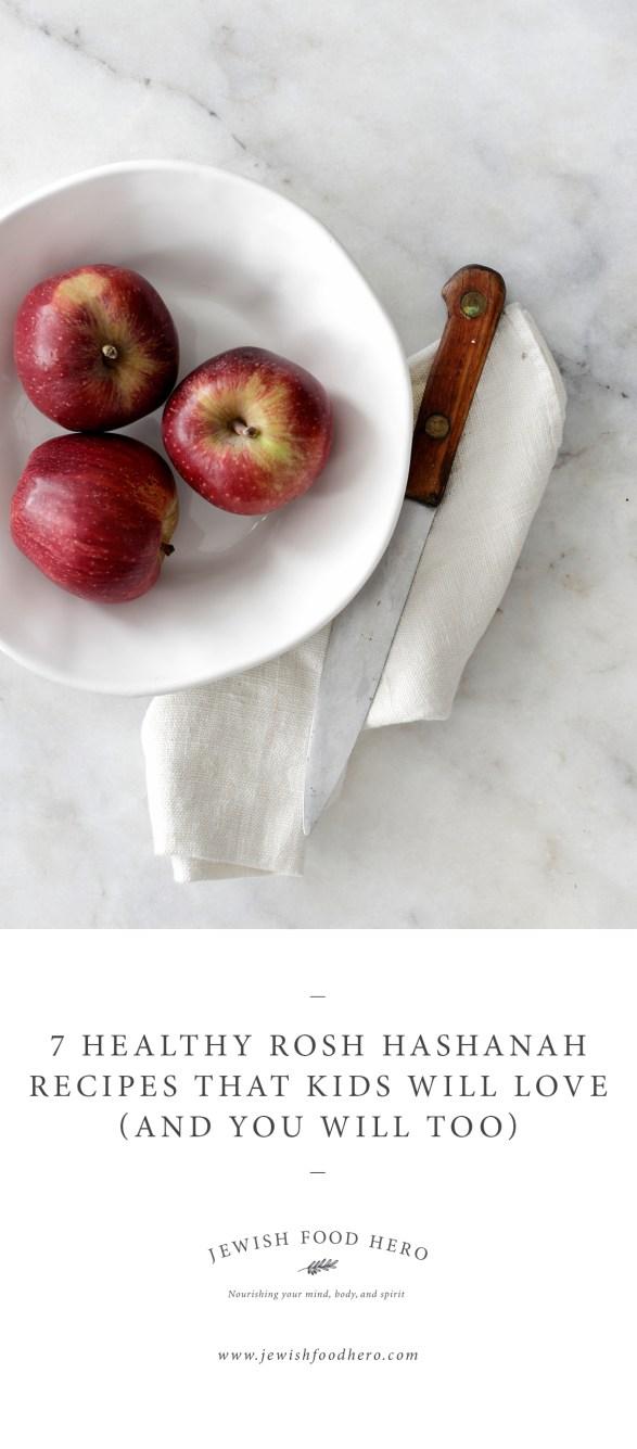 Healthy Rosh Hashanah Recipes for Kids