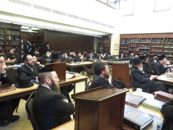 Listening to the Shiur