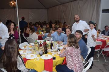5. Rabbi Wagner, Shabbos 500 at Chabad @ USC
