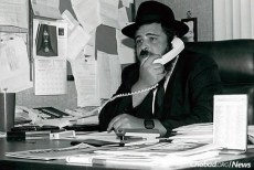 Early years at the office in Encino