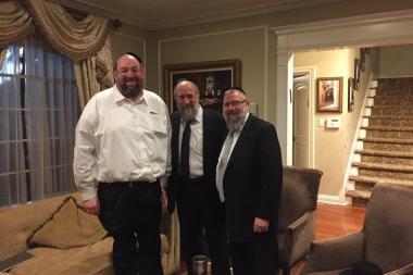 At the home of renowned Philanthropist and Askan Reb Shlomo Yehuda and Tamar Rechnitz