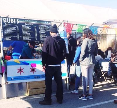 Rubi's Tacos at Maxwell St. Market - Tamar Alexia Fleishman, Esq.
