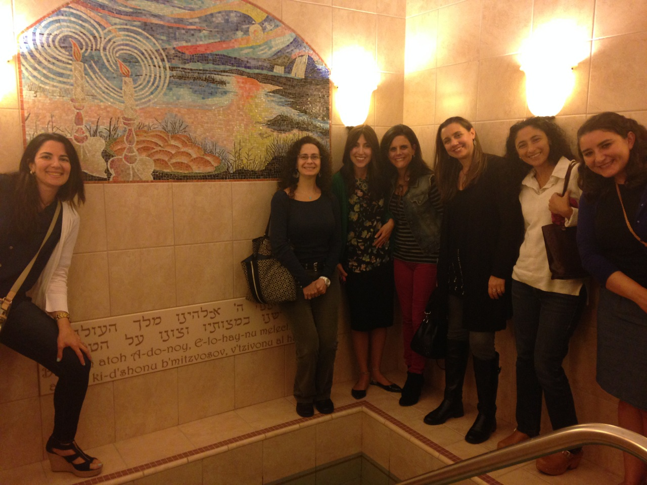 Houston Mikvah Tour Jewish Latin Princess