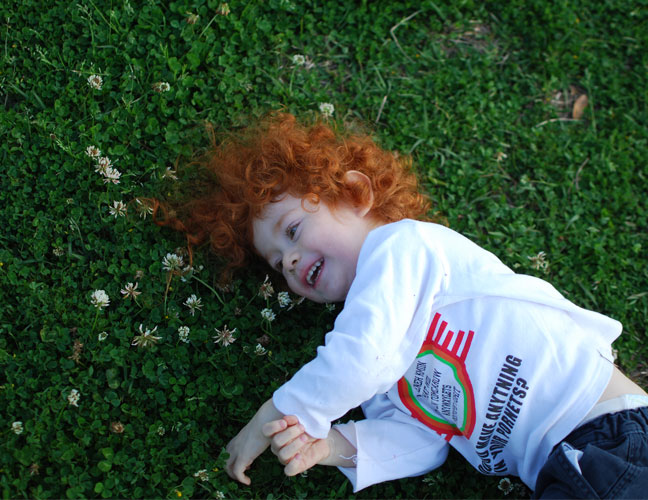 Menachem-on-grass