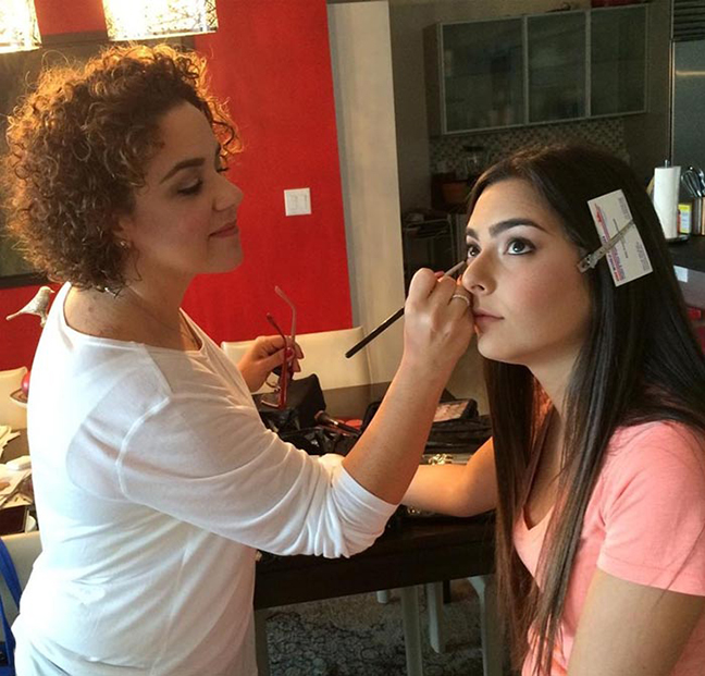 Artist at work: Patty Zrihen Makeup Artist