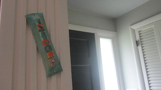 mezuzah by design megillah featured in mi casa es Su casa