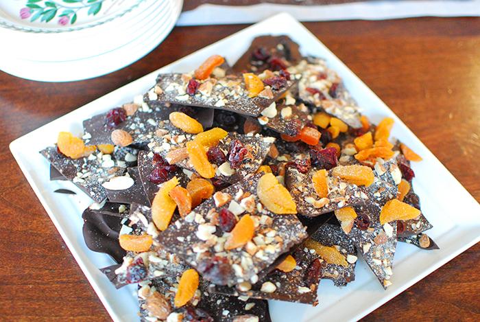 Chocolate Bark for Shabbat || Corteza de chocolate para Shabbat