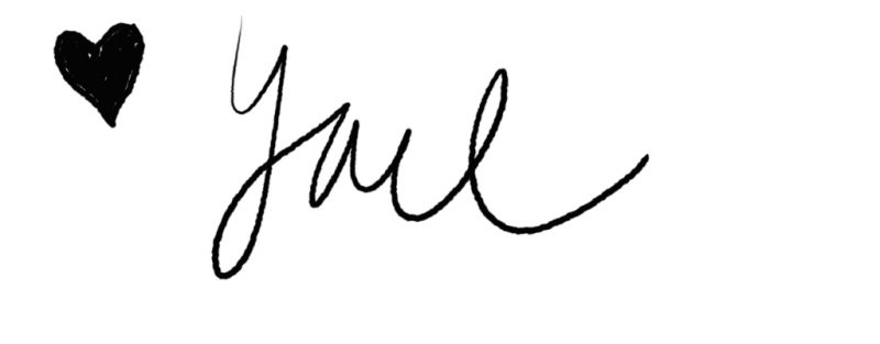 Yael signature at Jewish Latin Princess