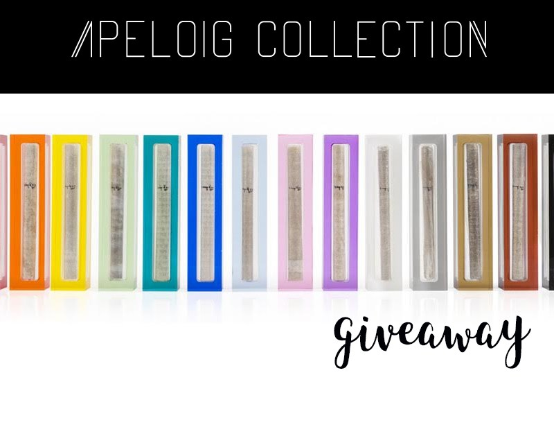 Apeloig Collection Giveaway || Rifa de Apeloig Collection
