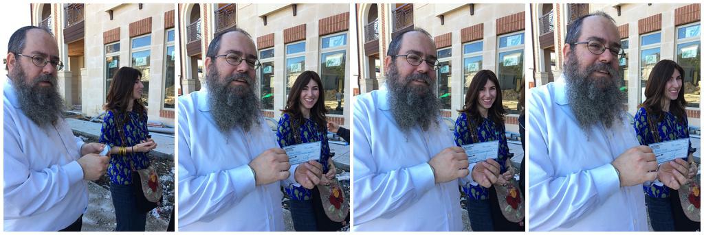 Aishel House receives donation from Yael of Jewish Latin Princess