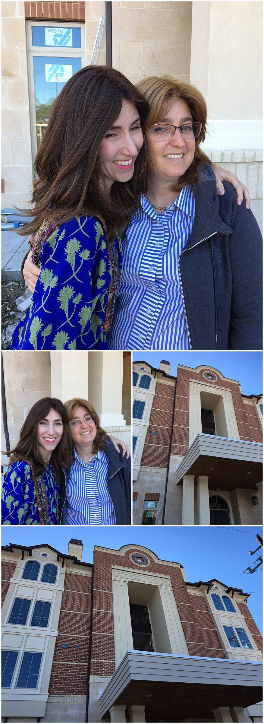 Yael of Jewish Latin Princess makes donation to Aishel House