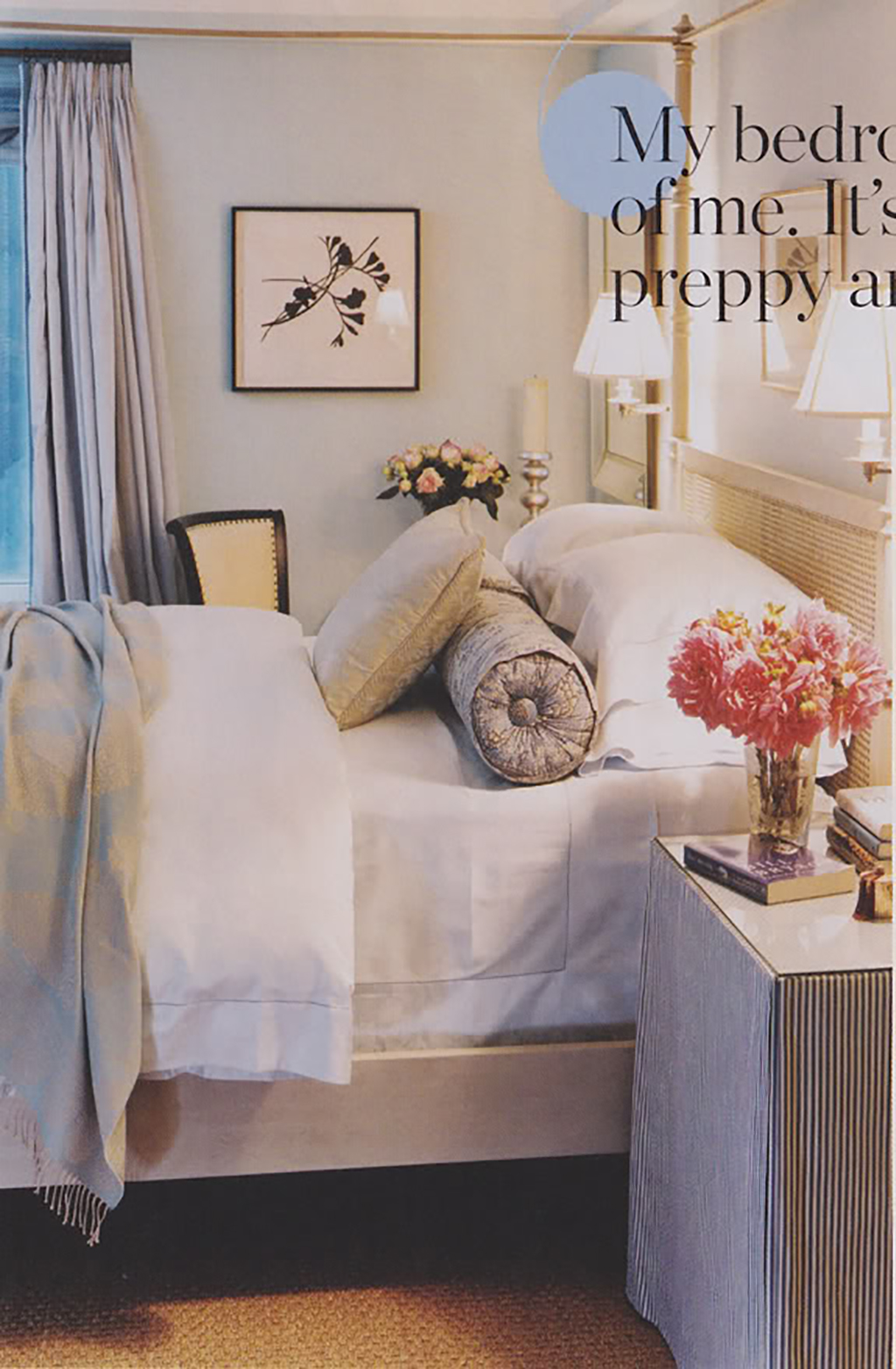 ivanka trump bedroom via little green notebook