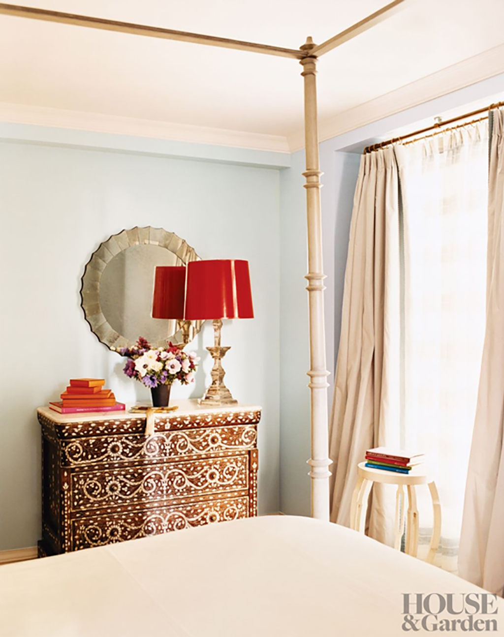 Ivanka Trumps bedroom by Emma Jane Pilington