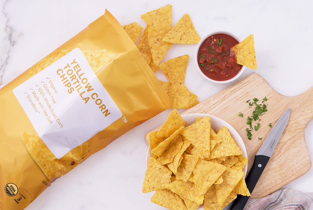 Brandless Yellow Corn Tortilla Chips
