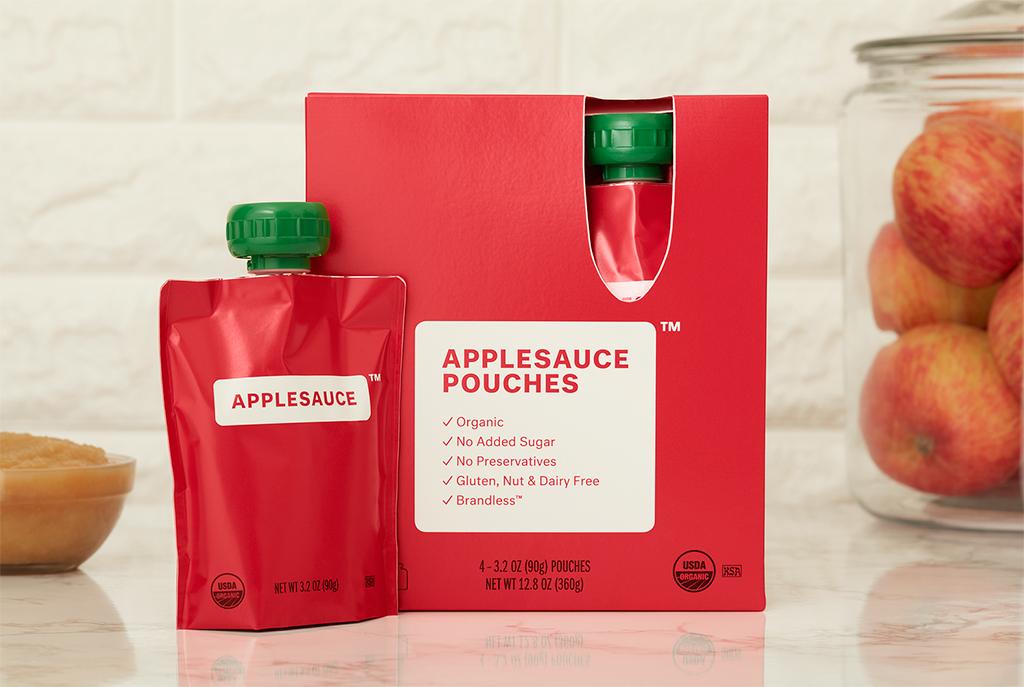Brandless Applesauce Pouches