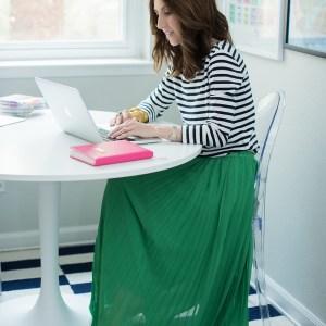 Dainty Jewell's Maxi Skirt Giveaway in Jewish Latin Princess