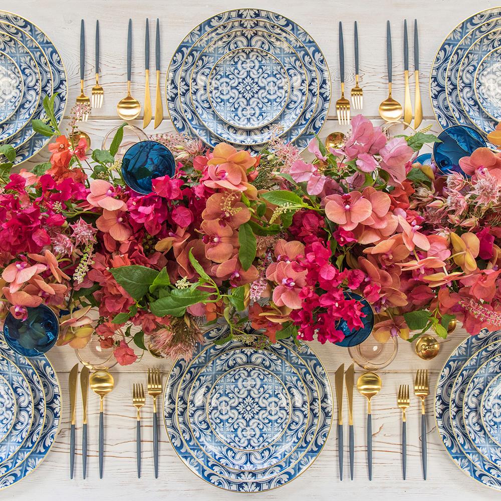 Hannukah Table Inspiration