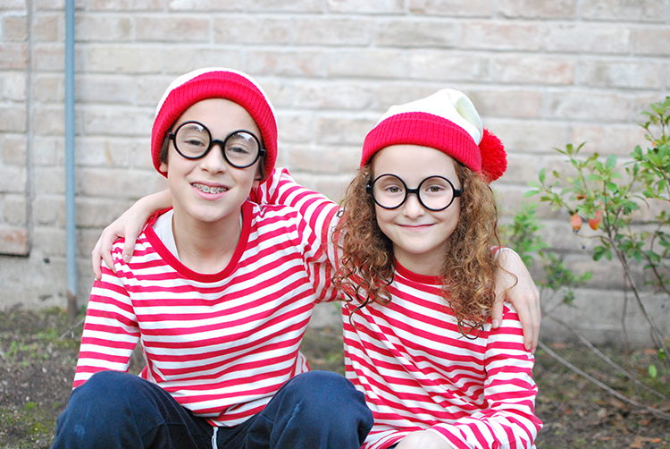 Purim Waldo Costumes