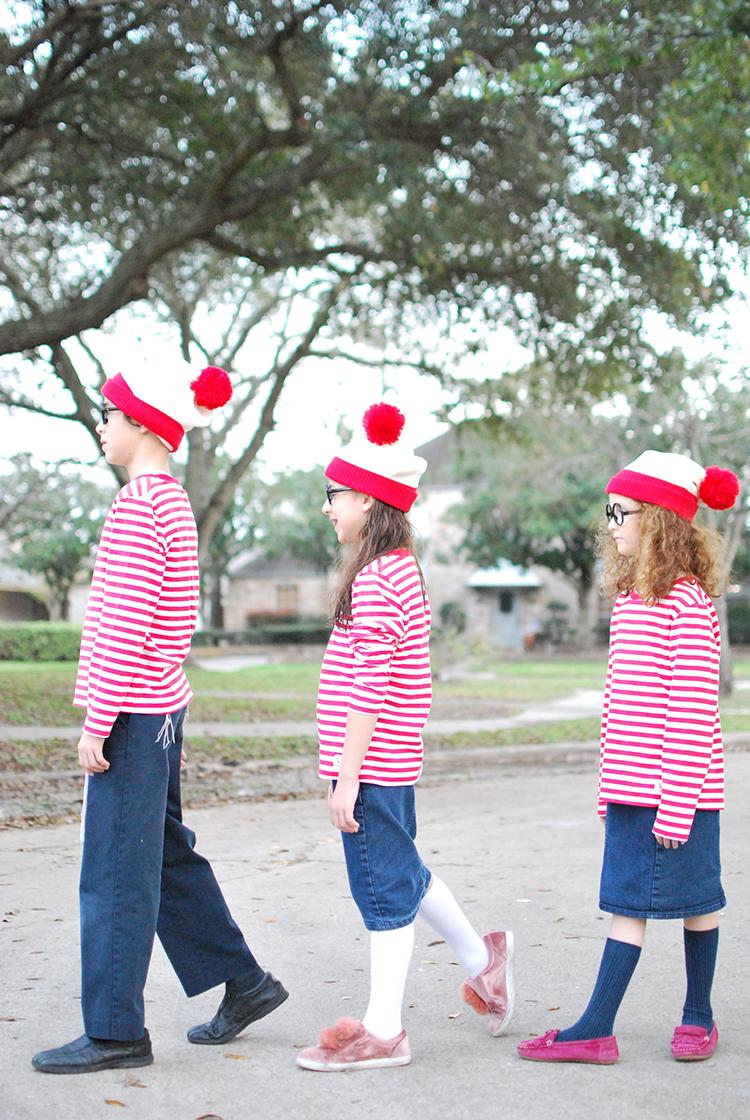 Where's Waldo Costumes for Purim
