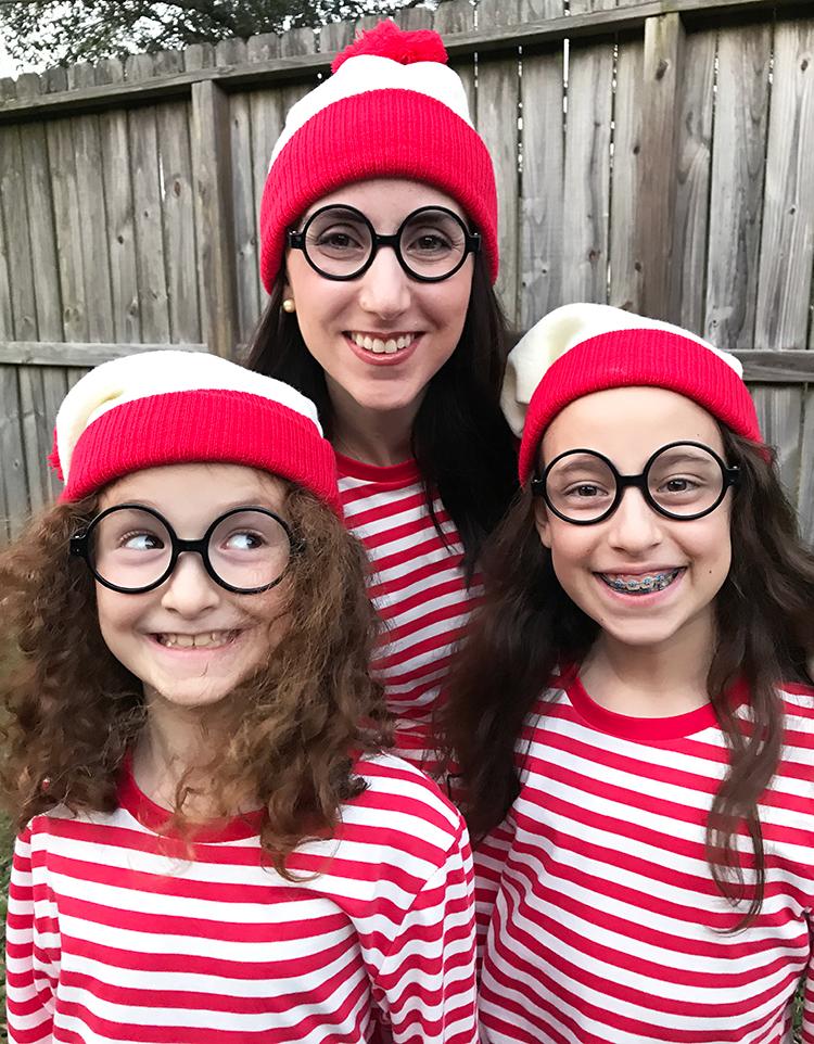 purim Waldo costumes