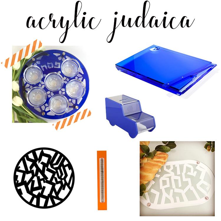 Acrylic Judaica to Swoon Over
