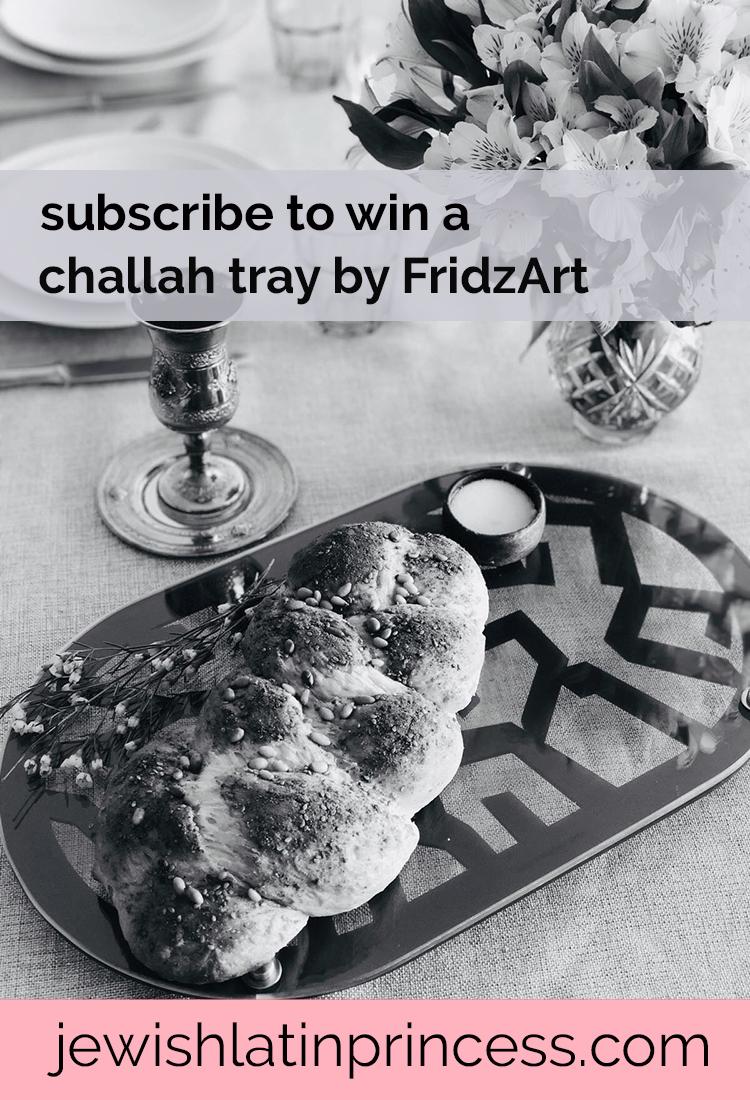 FridzArt Challah Tray