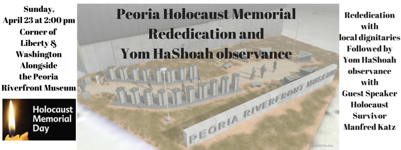 The Lighthouse   International Holocaust Remembrance Day  Why We     Peoria Holocaust Memorial