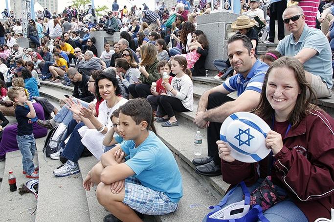 People celebrating Israel