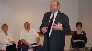 Rabbi Address at a recent workshop