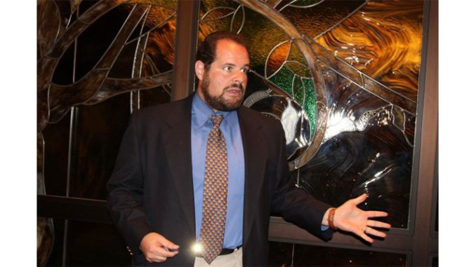 Rabbi Anthony Fratello of Temple Shaarei Shalom, Boynton Beach, FL.