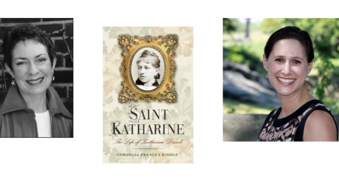 Cordelia Frances Biddle, author of a new biography of her relative, St. Katherine Drexel, and Lindsay Goldman, right, of the New York Academy of Medicine, are among the guests on Boomer Generation Radio Nov. 25.