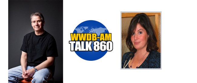 Bloomberg writer Bryan Gruley, left, and Dr. Jessica Israel are guests on this week's Boomer Generation Radio.