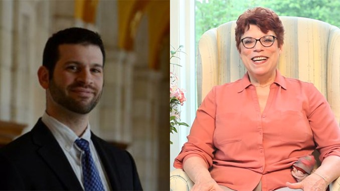 Mark Dann, left and Marilyn Haskel are the guests on the Jan. 17 Boomer Generation Radio show