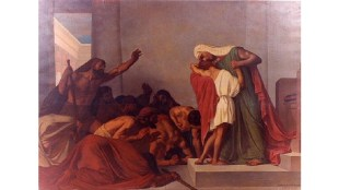 """Joseph recognized by his brothers,"" León Pierre Urbain Bourgeois, 1863"