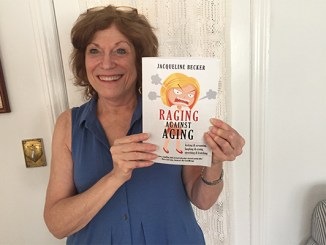 """Author Jackie Becker and her book, """"Raging against Aging."""""""