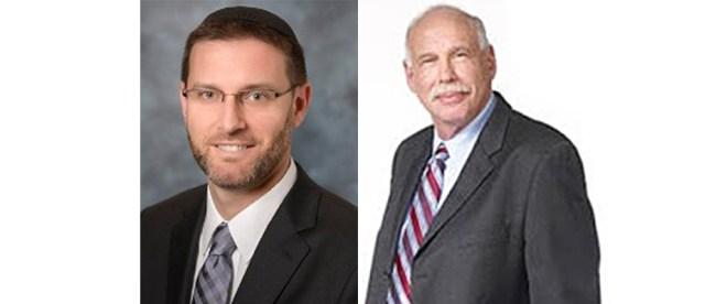Rabbi Jason Weiner, left, and Dr. Warren Brandwine, guests on this edition of Jewish Sacred Aging Radio