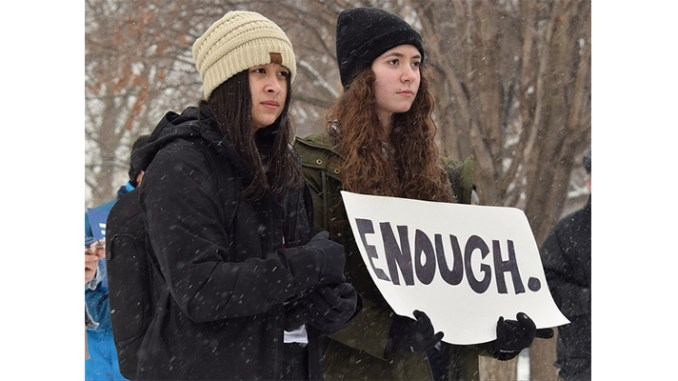 """March for Our Lives, Iowa City,"" photo by Cora Dove, used under Creative Commons 2.0 License, via Flickr.com"
