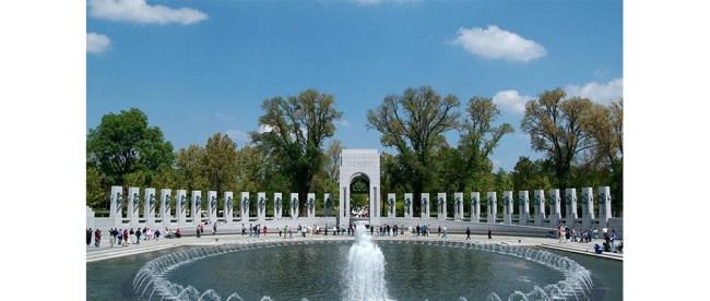 The National World War II Memorial, Washington, DC (Carole Leskin photo)