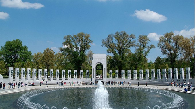 The National World War II Memorial, Washington, DC (Carole Leskin photo)