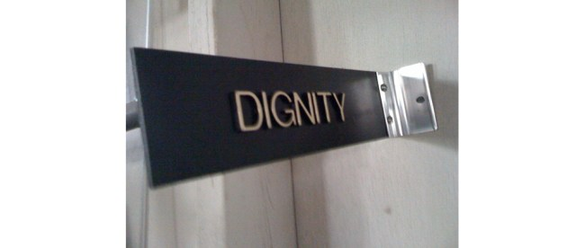 Dignity, by Jan McLaughlin/Flickr.com via Creative Commons License