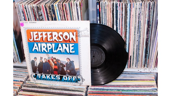 Jefferson Airplane Album, at Point Pleasant Antiques, 2016. (Photo Copyright ©2016 Steven L. Lubetkin. Used by permission.)