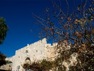 One of the gates to the old city of Jerusalem (Steve Lubetkin Photo/Israel201111-207. Used by permission)