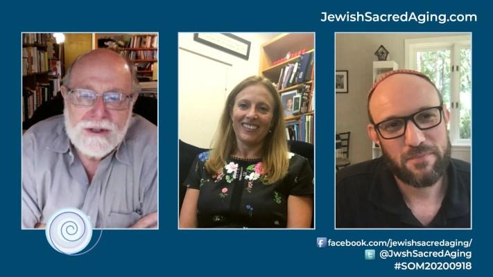 In this episode, Rabbi Address, left, chats with Rabbi Geri Newburge, center, rabbi at Main Line Reform Temple/Beth Elohim, Wynnewood, Pennsylvania, and Rabbi Matt Soffer, senior rabbi at Judea Reform Congregation, Durham, North Carolina.