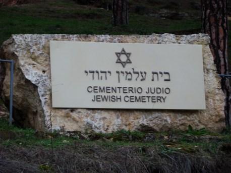 JEWISH CEMETERY SEGOVIA