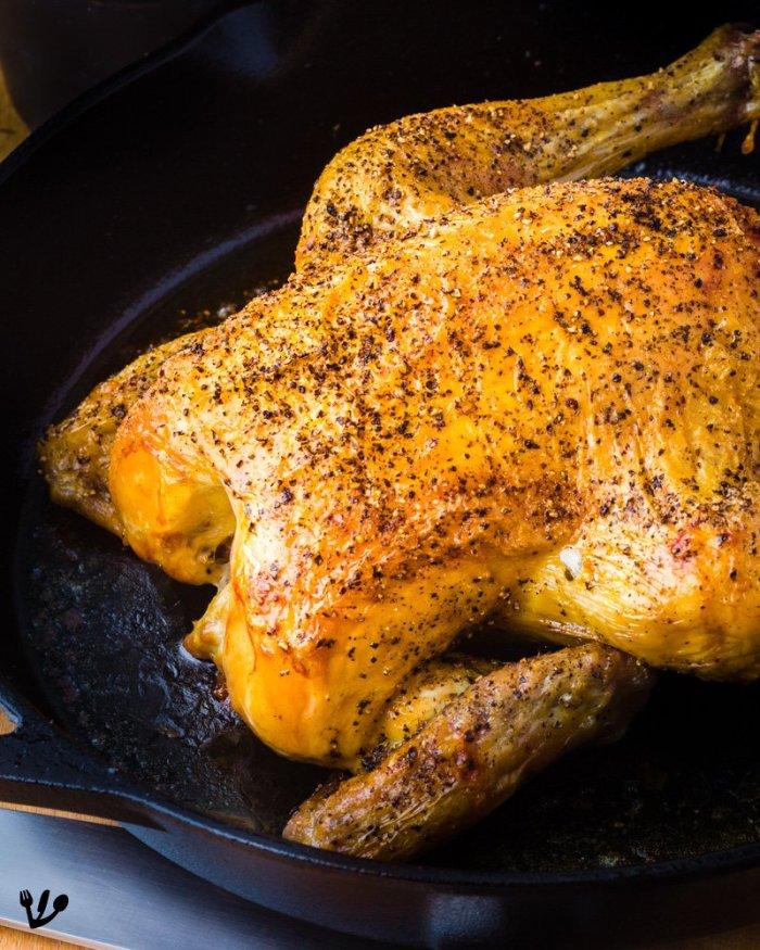 Best Roast Chicken Recipe: Simple, Juicy & Crispy (Recipe) #VienneseKnobelBrathendl