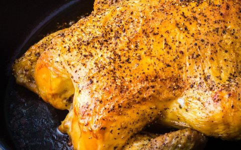 Best Roast Chicken Recipe Simple, Juicy & Crispy (Recipe) #VienneseKnobelBrathendl