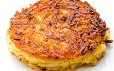Perfect Potato Latkes: Yiddish vs. Hebrew & Schmaltz vs. Oil (Recipe) #Erdäpfelpuffer #Rösti