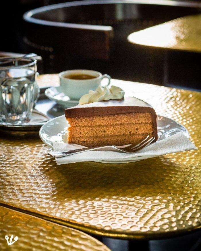 Sachertorte, the Jewish Masculine Chocolate Cake from Vienna's Lost Coffeehouse Past: Sigmund Freud's Beloved Dessert (Recipe) #FranzSacher #CaféSabarsky #Leschanz #Demel
