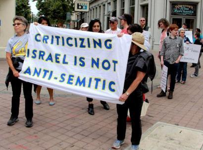 jewish voice for peace anti semitism israel